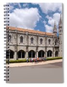 Monastery Of The Hieronymites Lisbon 5 Spiral Notebook
