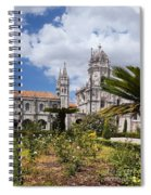 Monastery Of The Hieronymites Lisbon 6 Spiral Notebook