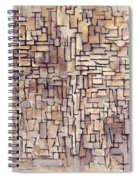 Mondrian: Composition, 1913 Spiral Notebook