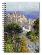 Monet: Bordighera, 1884 Spiral Notebook