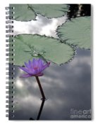 Monet Lily Pond Reflection  Spiral Notebook