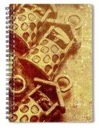 Monetary Wells Spiral Notebook