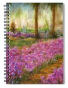Monet's Garden In Cannes Spiral Notebook