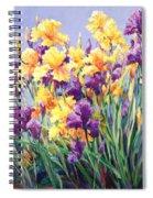 Monet's Iris Garden Spiral Notebook