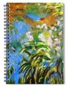 Monet's Irises Spiral Notebook