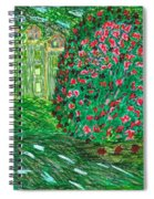 Monet's Parc Monceau Spiral Notebook