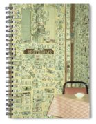 Money Restrooms Spiral Notebook