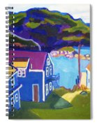 Monhegan Harbor Spiral Notebook