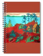 Monhegan Hue Spiral Notebook