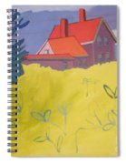Monhegan Light Spiral Notebook
