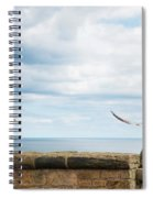 Monitored Seagull Take-off Spiral Notebook