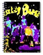 Monkey Business Spiral Notebook