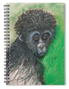 Monkey Business Spiral Notebook