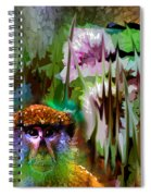 Monkey In My Heart Spiral Notebook