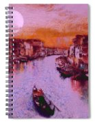 Monkey Painted Italy Again Spiral Notebook