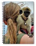 Monkeying Around Spiral Notebook