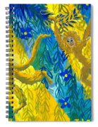 Monkeys And Sunbeams Spiral Notebook