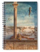 Monkeys At Sunset Spiral Notebook