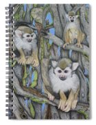 Monkeys Spiral Notebook
