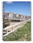 Monmouth Beach - Impressions Spiral Notebook
