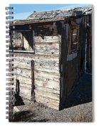 Mono Huts Spiral Notebook