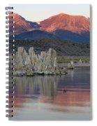 Mono Lake Sunrise 1 Spiral Notebook