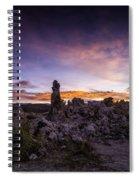 Mono Lake Sunset 5 Spiral Notebook