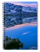 Mono Lake Twilight Spiral Notebook