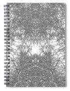 Mono Trees Spiral Notebook