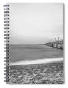 Monochromatic Landscape  Spiral Notebook