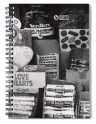 Monochrome Candy Spiral Notebook