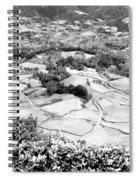 Monochrome Valley Spiral Notebook