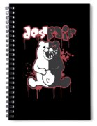 Monokuma Spiral Notebook
