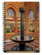Monreale Palermo 1925 Travel Spiral Notebook