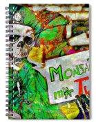 Monsanto Killed Me Spiral Notebook