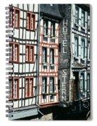 Monschau Hotel Spiral Notebook