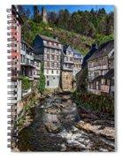 Monschau Village View Spiral Notebook
