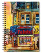 Monsieur Falafel Spiral Notebook