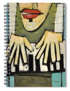 Monsieur Keys Sans Keyboard Extension Spiral Notebook