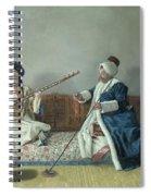 Monsieur Levett And Mademoiselle Helene Glavany In Turkish Costumes Spiral Notebook