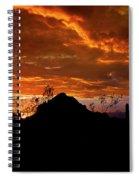 Monsoon Sunset  Spiral Notebook