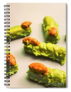 Monster Finger Cake Spiral Notebook