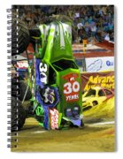 Monster Jam 2 Spiral Notebook