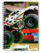 Monster Jam 2013 In Nassau Coliseum Spiral Notebook