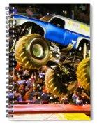 Monster Jam Atlanta 2012 Spiral Notebook