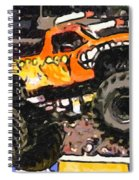 Monster Jam El Toro Loco Spiral Notebook