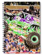 Monster Jam Orlando Fl Spiral Notebook