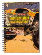 Monster Jam Party In The Pits Spiral Notebook