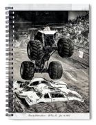 Monster Truck 1b Spiral Notebook