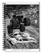 Monster Truck 2b Spiral Notebook